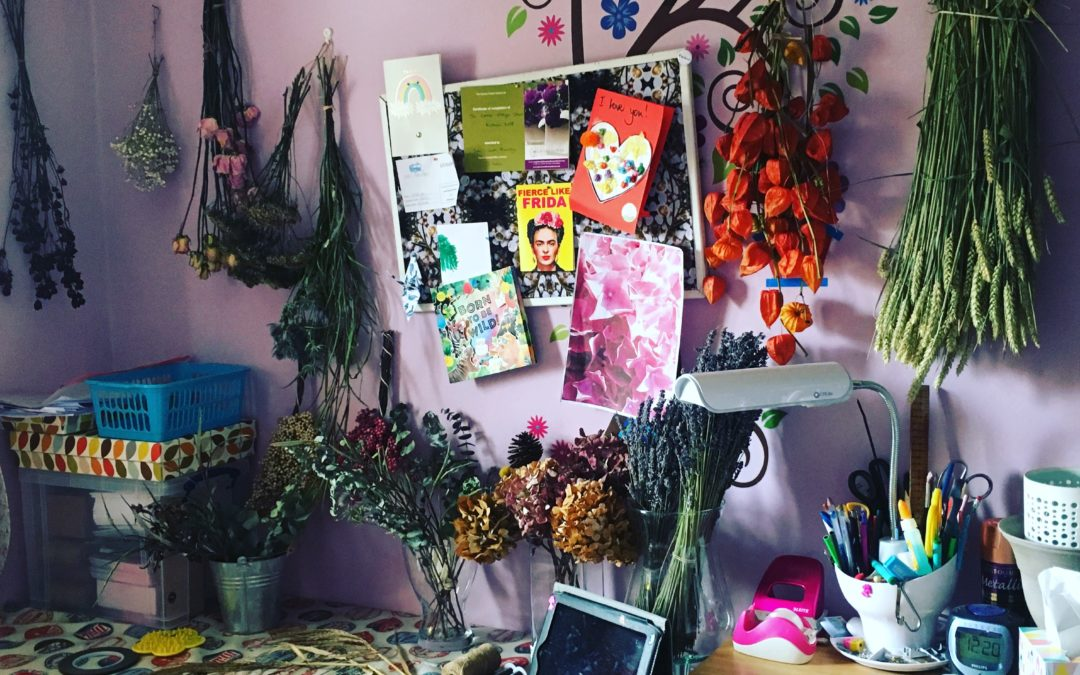 Dried Flower Take over……